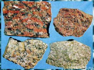 2. гранит Полевой шпат, кварц, слюда образуют: А2 1. мрамор 3. известняк 4. крем
