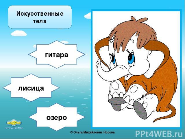 озеро гитара лисица Искусственные тела ©Ольга Михайловна Носова