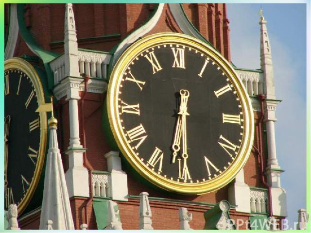 Появление часов Песочные часы