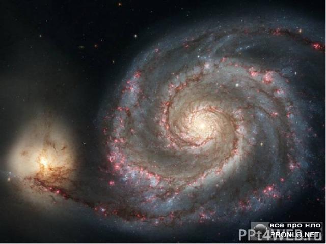 Созвездия и галактики На небе можно увидеть целые картины – созвездия, состоящие из маленьких звёзд. Группа, состоящая из миллиардов звёзд, называется галактикой. Большинство галактик имеют спиральную или овальную форму.