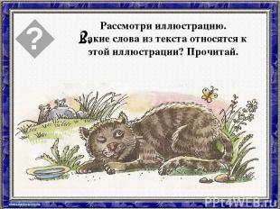 Ушинский кот васька