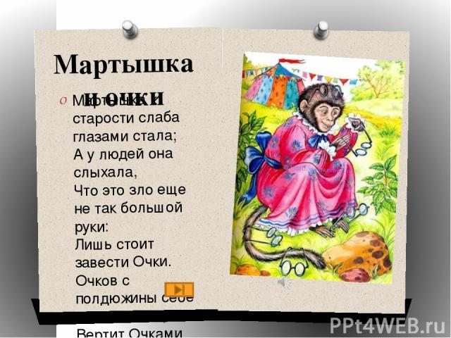 Угадай басню по иллюстрации Ворона и лисица Мартышка и очки