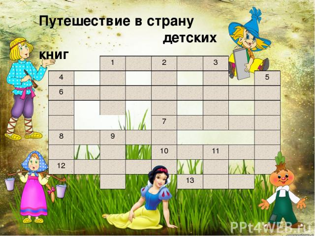 Путешествие в страну детских книг 1 2 3 4 5 6 7 8 9 10 11 12 13