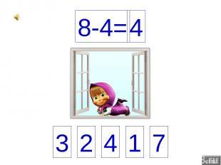 4 8-4=