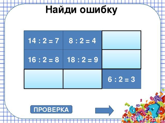 Умножение на 3 3 ∙ 3 = 9 3 ∙ 8 = 24 3 ∙ 7 = 21 3 ∙ 5 = 15 3 ∙ 2 = 6 3 ∙ 6 = 18 3 ∙ 4 = 12 3 ∙ 9 = 27 3 ∙ 10 = 30 3 ∙ 1 = 3 ПРОВЕРКА