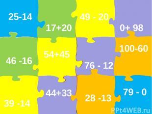 25-14 49 - 20 17+20 0+ 98 76 - 12 54+45 28 -13 100-60 44+33 39 -14 46 -16 79 - 0