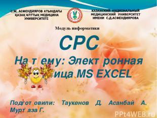 Создатель программы Excel Симоньи родился в Венгрии в 1948 г. В возрасте 17 лет