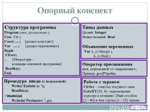 Математическое описание {Описание входных переменных} r – номер работы (const) k