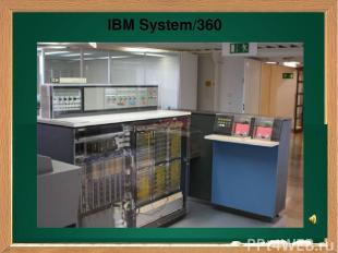 Ваш заголовок Подзаголовок IBM System/360