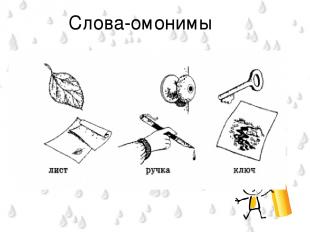 Слова-омонимы