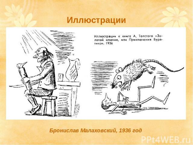 Бронислав Малаховский, 1936 год Иллюстрации