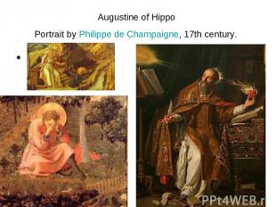 Augustine of Hippo Portrait by Philippe de Champaigne, 17th century. т