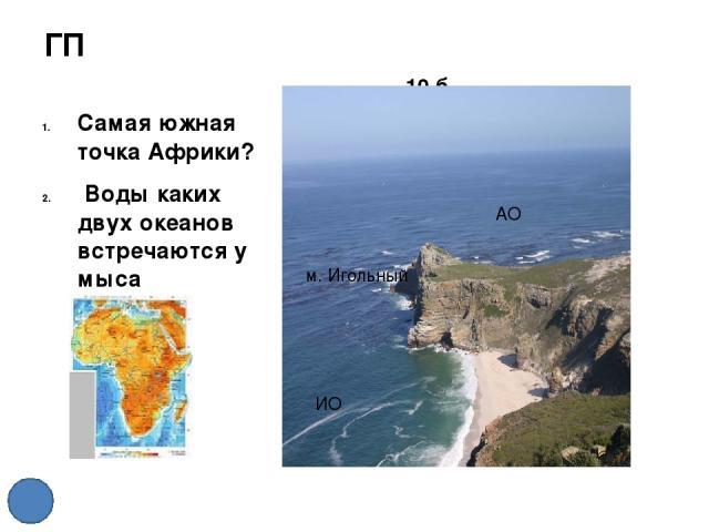 Климат. Африка. 40 б На территории какого климатического пояса сформировалась самая распространенная природная зона Африки – саванна? С-ЭКП