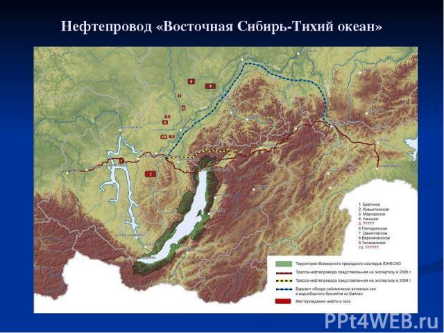 Нефтепровод «Восточная Сибирь-Тихий океан»