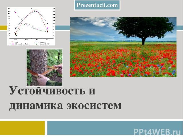 Устойчивость и динамика экосистем Prezentacii.com