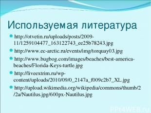 Используемая литература http://otvetin.ru/uploads/posts/2009-11/1259104477_16312