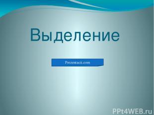 Выделение Prezentacii.com