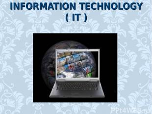 INFORMATION TECHNOLOGY ( IT )