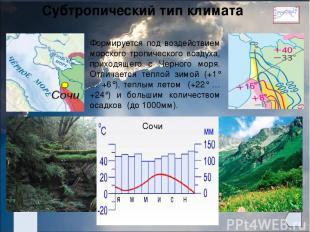 Муссонный тип климата Дальний Восток -28° -24° -20° +8° +20° +24° 400- 600 600-