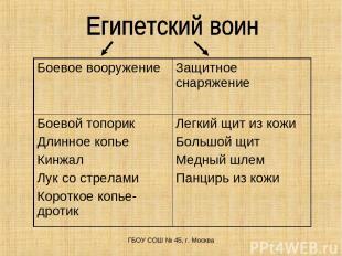 ГБОУ СОШ № 45, г. Москва Боевое вооружение Защитное снаряжение Боевой топорик Дл