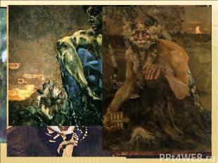 в импрессионистских полотнах В.А.Серова и К.А.Коровина в символистских картинах