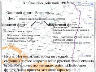 Итоги и последствия войны. Брестский мир – март 1918 г. Советская Россия Германи