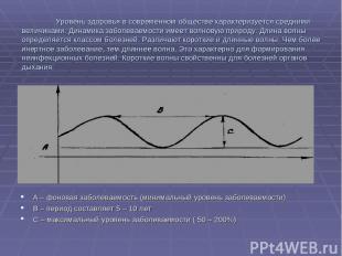 Уровень здоровья в современном обществе характеризуется средними величинами. Дин