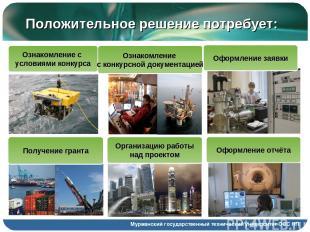 Мурманский государственный технический университет ООС НП Положительное решение
