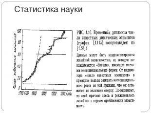 Статистика науки
