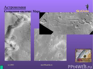 (с) 2001 mez@karelia.ru * Астрономия Солнечная система: Марс SkyGlobe mez@kareli