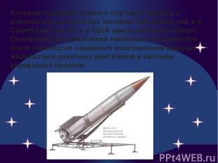 История создания первого спутника связана с работой над ракетой как таковой. Тем