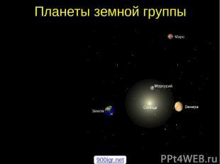 Планеты земной группы 900igr.net