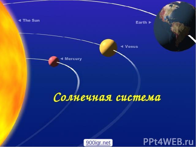 Солнечная система 900igr.net
