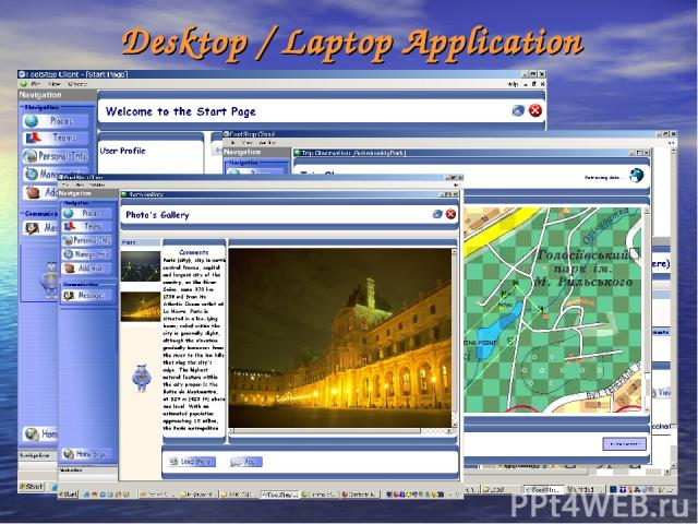 Desktop / Laptop Application