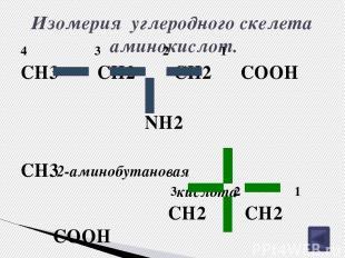 Творческое задание № 4. Учитывая особенности состава и строения аминокислот, поп