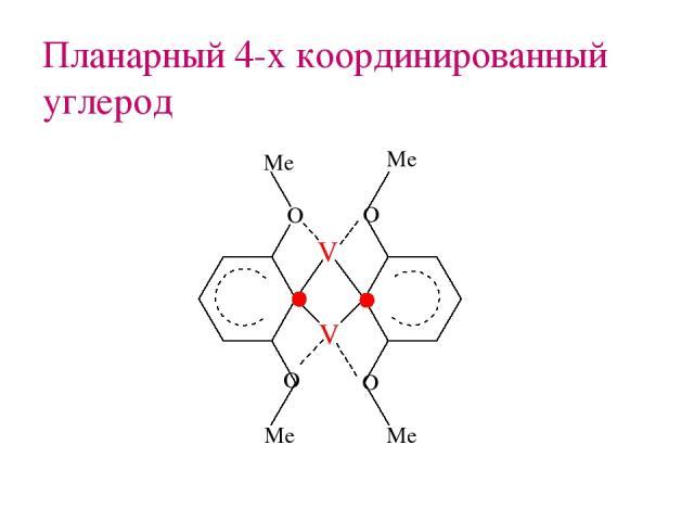 Планарный 4-х координированный углерод
