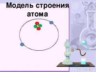 - - Модель строения атома + +