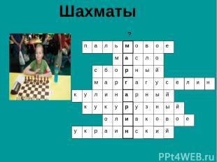 Шахматы ?