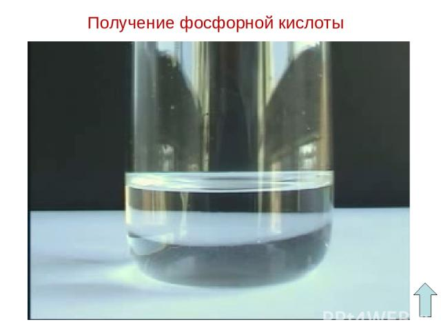 Получение фосфорной кислоты
