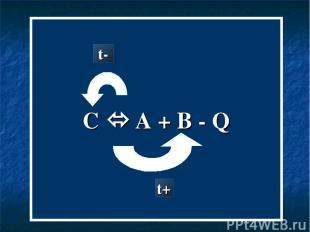 C A + B - Q t- t+