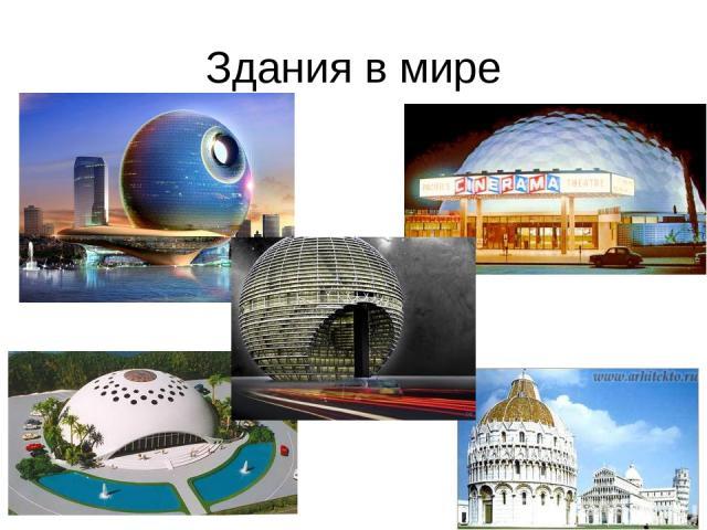 Здания в мире