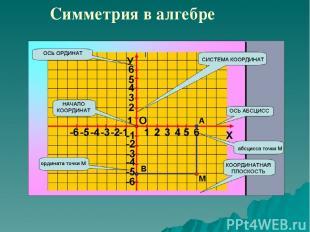 Симметрия в алгебре