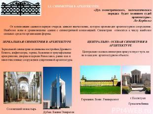 От композиции здания в первую очередь зависит впечатление, которое производит ар