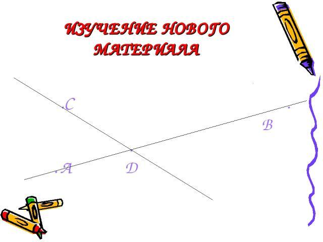 ИЗУЧЕНИЕ НОВОГО МАТЕРИАЛА .C . B . . A D