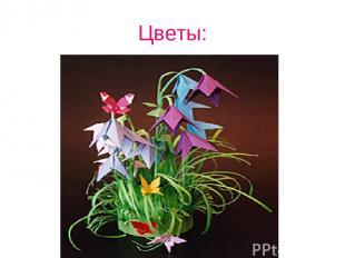 Цветы: