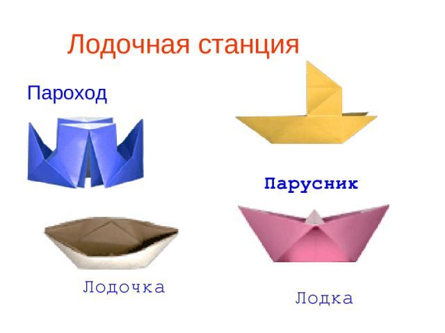 Лодочная станция Пароход Парусник Лодочка Лодка