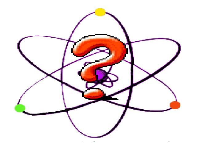 Собрать, сколько надо, частиц всех сортов, И атом - пожалуйста - вот он, готов! Но в общее дело их вклады неравны... Так кто же из этих частиц самый главный: Пузатый протон, флегматичный нейтрон, А может быть, юркий малец электрон?