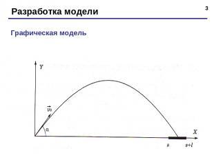 * Разработка модели Графическая модель