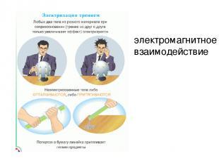 электромагнитное взаимодействие