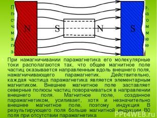 Парамагнетиками называются вещества, которые, попав в магнитное поле, несколько